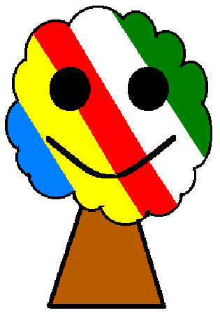 strom barvn bez napisu